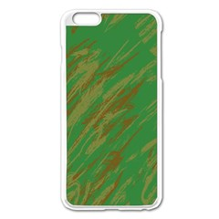 Brown Green Texture       Apple Iphone 6/6s Leather Folio Case by LalyLauraFLM
