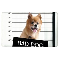 Bad Dog Apple Ipad 3/4 Flip Case by Valentinaart