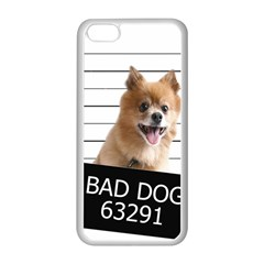 Bad Dog Apple Iphone 5c Seamless Case (white) by Valentinaart