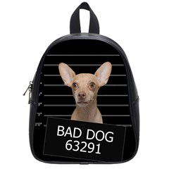 Bad Dog School Bags (small)  by Valentinaart