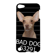 Bad Dog Apple Ipod Touch 5 Hardshell Case by Valentinaart