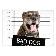 Bad Dog Samsung Galaxy Tab 8 9  P7300 Flip Case by Valentinaart