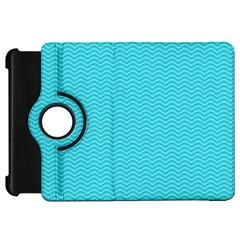 Blue Waves Pattern  Kindle Fire Hd 7  by TastefulDesigns
