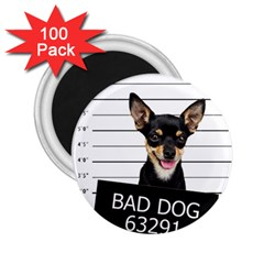 Bad Dog 2 25  Magnets (100 Pack)  by Valentinaart