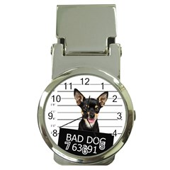 Bad Dog Money Clip Watches by Valentinaart