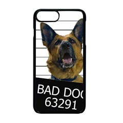 Bad dog Apple iPhone 7 Plus Seamless Case (Black) by Valentinaart