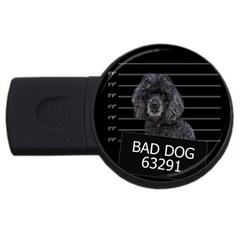 Bad Dog Usb Flash Drive Round (2 Gb)