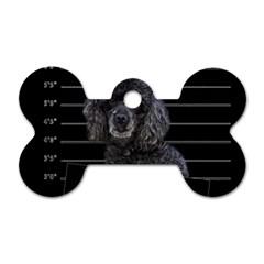 Bad Dog Dog Tag Bone (two Sides) by Valentinaart