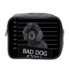 Bad Dog Mini Toiletries Bag 2 Side by Valentinaart