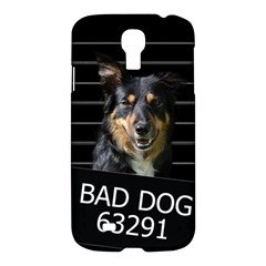 Bad Dog Samsung Galaxy S4 I9500/i9505 Hardshell Case by Valentinaart