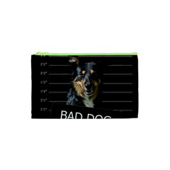 Bad Dog Cosmetic Bag (xs) by Valentinaart