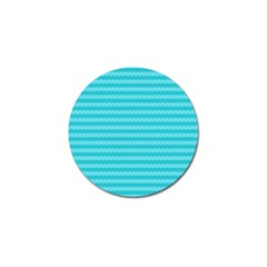 Abstract Blue Waves Pattern Golf Ball Marker (4 Pack) by TastefulDesigns