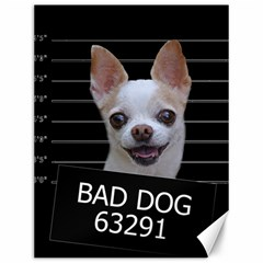 Bad Dog Canvas 12  X 16   by Valentinaart