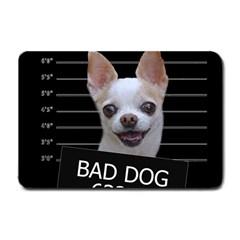 Bad Dog Small Doormat  by Valentinaart