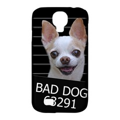 Bad Dog Samsung Galaxy S4 Classic Hardshell Case (pc+silicone) by Valentinaart