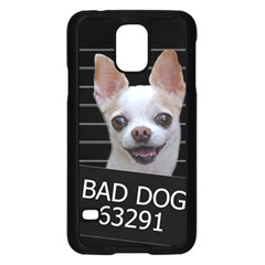 Bad Dog Samsung Galaxy S5 Case (black) by Valentinaart