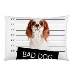 Bad Dog Pillow Case (two Sides) by Valentinaart
