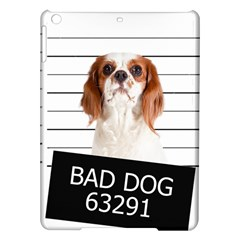 Bad Dog Ipad Air Hardshell Cases by Valentinaart