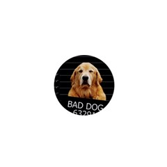 Bad Dog 1  Mini Magnets by Valentinaart