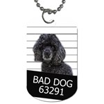 Bad dog Dog Tag (Two Sides) Front