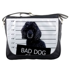 Bad Dog Messenger Bags by Valentinaart