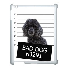 Bad Dog Apple Ipad 3/4 Case (white) by Valentinaart