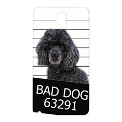 Bad Dog Samsung Galaxy Note 3 N9005 Hardshell Back Case by Valentinaart