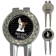 Bad Dog 3 In 1 Golf Divots by Valentinaart