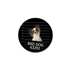 Bad Dog Golf Ball Marker by Valentinaart