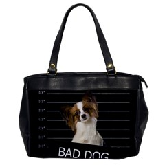 Bad Dog Office Handbags by Valentinaart