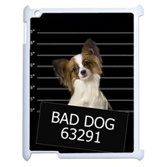 Bad Dog Apple Ipad 2 Case (white) by Valentinaart