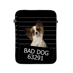Bad Dog Apple Ipad 2/3/4 Protective Soft Cases by Valentinaart
