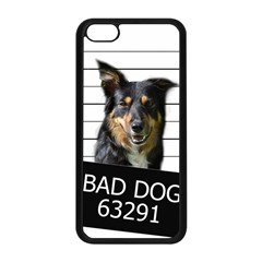 Bad Dog Apple Iphone 5c Seamless Case (black) by Valentinaart