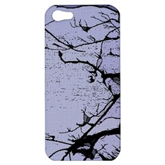 Grebe Spotting Ink Apple Iphone 5 Hardshell Case by DeneWestUK