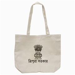Seal Of Indian State Of Tripura Tote Bag (cream) by abbeyz71