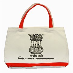 Seal Of Indian State Of Tripura Classic Tote Bag (red) by abbeyz71