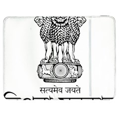 Seal Of Indian State Of Tripura Samsung Galaxy Tab 7  P1000 Flip Case by abbeyz71
