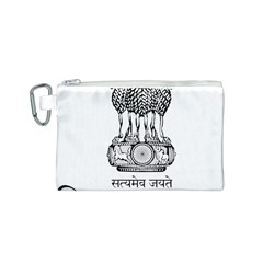 Seal Of Indian State Of Tripura Canvas Cosmetic Bag (s) by abbeyz71