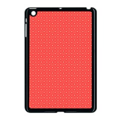 Decorative Retro Hearts Pattern  Apple Ipad Mini Case (black) by TastefulDesigns