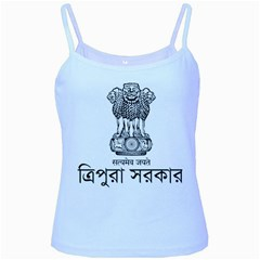 Seal Of Indian State Of Tripura Baby Blue Spaghetti Tank by abbeyz71