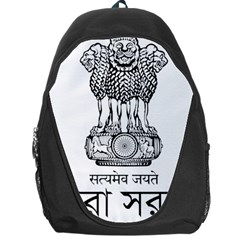 Seal Of Indian State Of Tripura Backpack Bag by abbeyz71