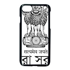Seal Of Indian State Of Tripura Apple Iphone 7 Seamless Case (black) by abbeyz71