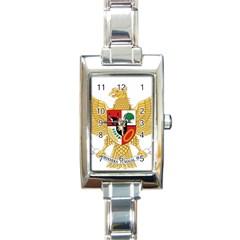 National Emblem Of Indonesia  Rectangle Italian Charm Watch by abbeyz71