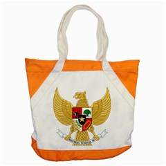 National Emblem Of Indonesia  Accent Tote Bag by abbeyz71