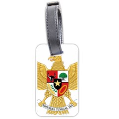 National Emblem Of Indonesia  Luggage Tags (one Side)  by abbeyz71