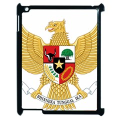 National Emblem Of Indonesia  Apple Ipad 2 Case (black) by abbeyz71