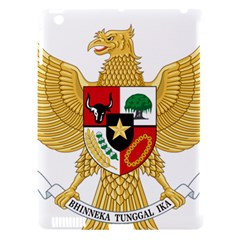 National Emblem Of Indonesia  Apple Ipad 3/4 Hardshell Case (compatible With Smart Cover) by abbeyz71