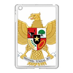 National Emblem Of Indonesia  Apple Ipad Mini Case (white) by abbeyz71