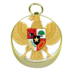 National Emblem Of Indonesia  Gold Compasses by abbeyz71
