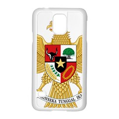 National Emblem Of Indonesia  Samsung Galaxy S5 Case (white) by abbeyz71